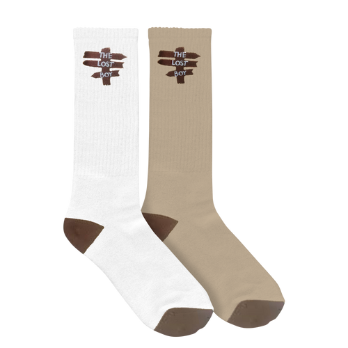 Lost Boy Socks -  2 packs