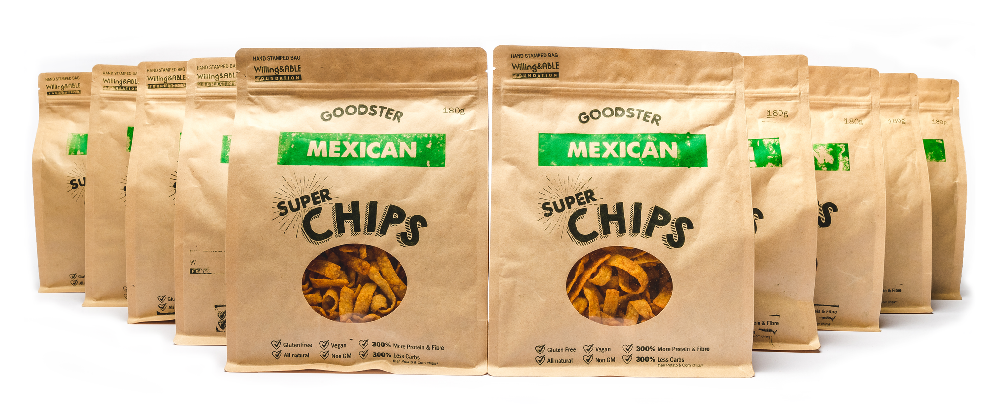 Mexican Goodster Super Chips (10 bags)