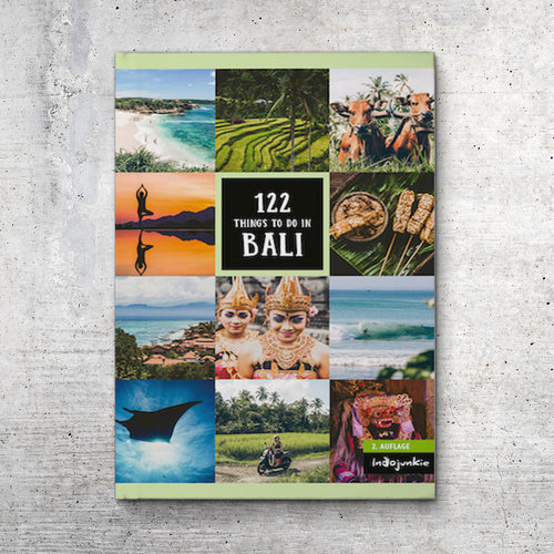 Bali Reiseführer: 122 Things to Do in Bali (Buch, 2019)