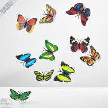 Load image into Gallery viewer, 10 Pcs Romantic Magic Led Butterfly