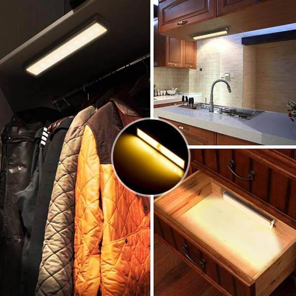 Wireless Motion Sensor Led Night Light Bar - Smart Light For Smart Life!