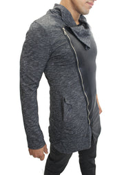Jonathan Dark Grey Fashion Cardigan