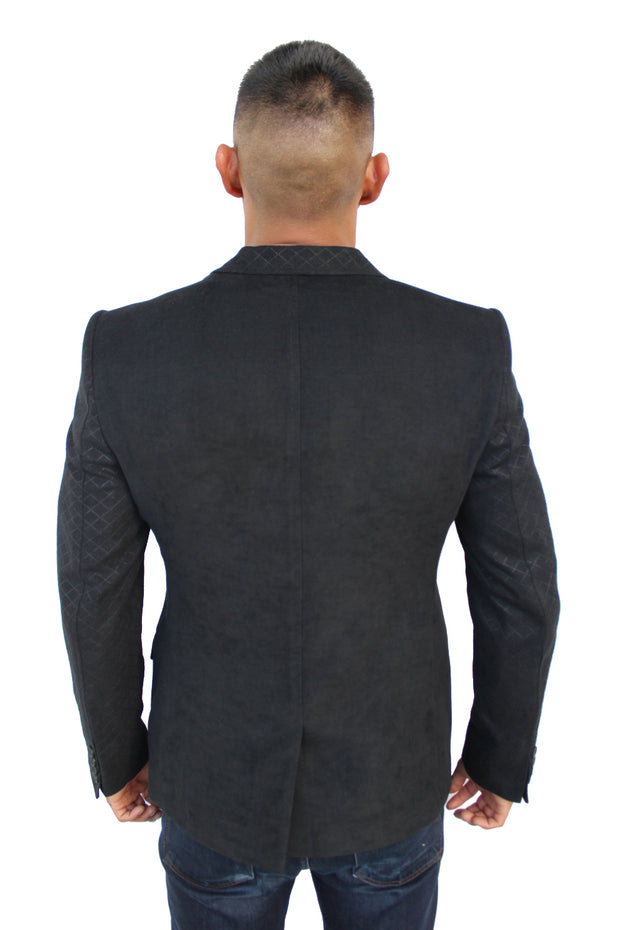 Ari Black Blazer With Details On Sleeve