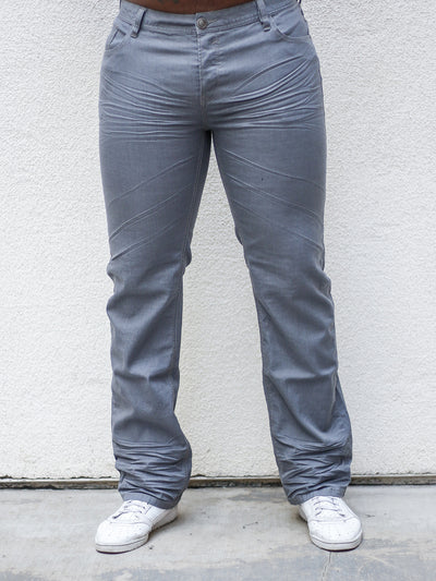 Charlie Grey Straight Cut Jeans