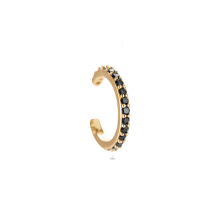 Dottilove - Simple 3.0 Earcuff Gold/schwarz