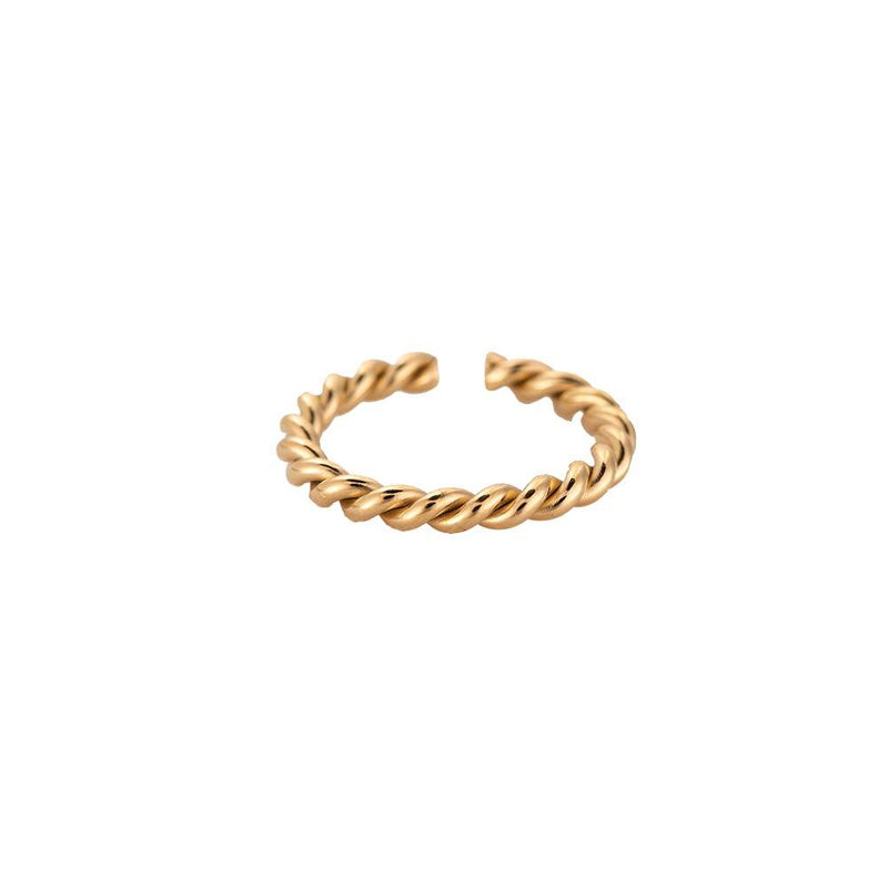 Twisted 2.0 Ring Gold