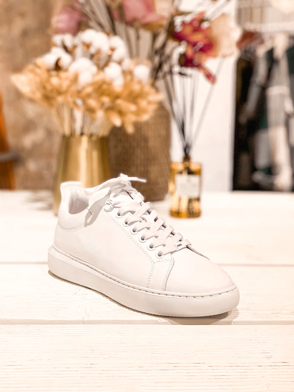 Rox Marlow White Leather