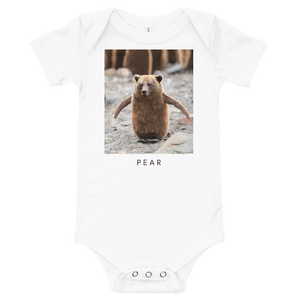 Pear - Baby bodysuit