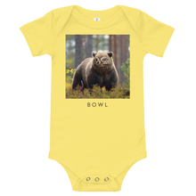 Load image into Gallery viewer, Bowl - Baby bodysuit