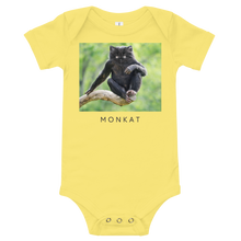 Load image into Gallery viewer, Monkat - Baby bodysuit