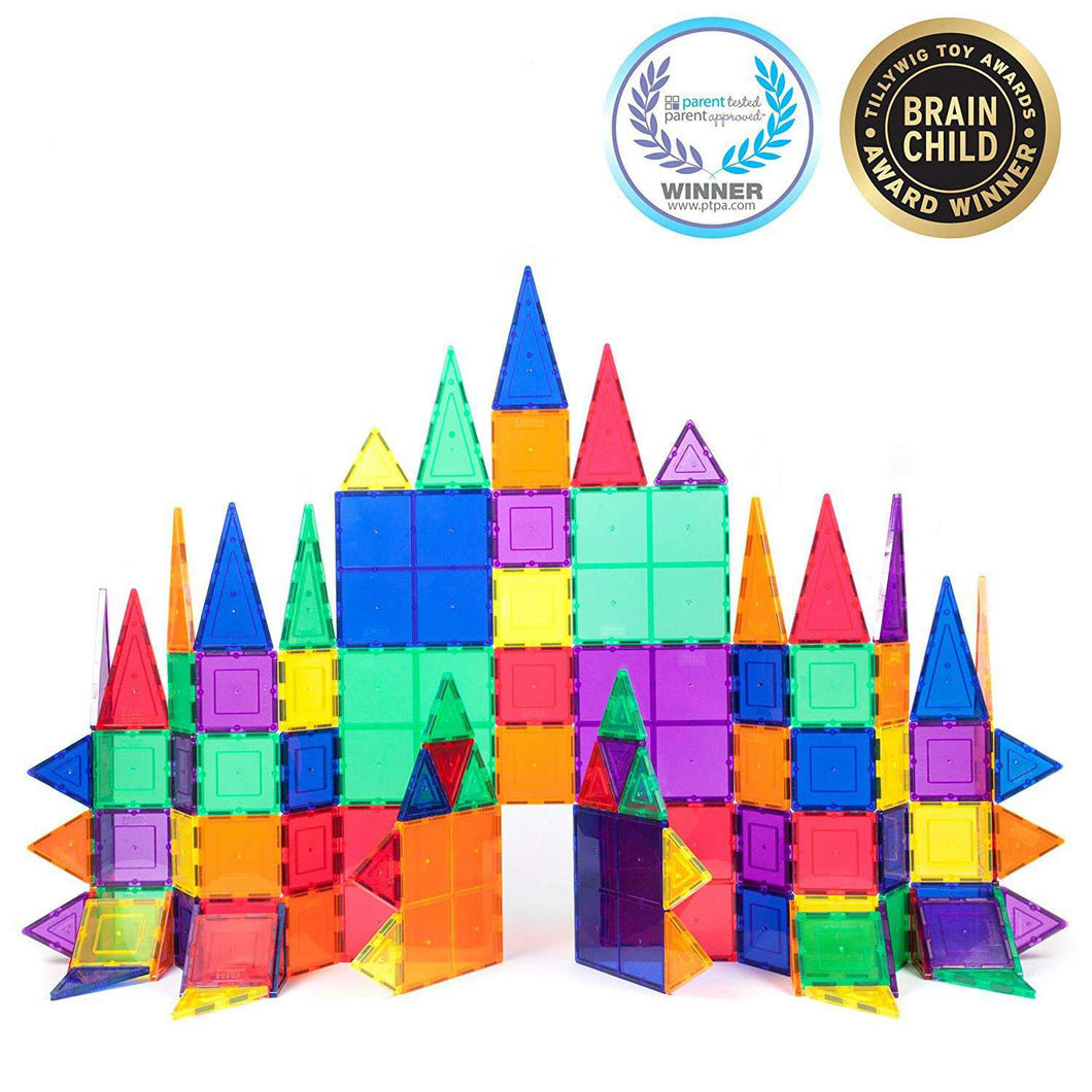 Magnetic Blocks Toys Children's Magnets Square Building Games Designer Constructor Tiles Bricks Model Educational Toys For Kids