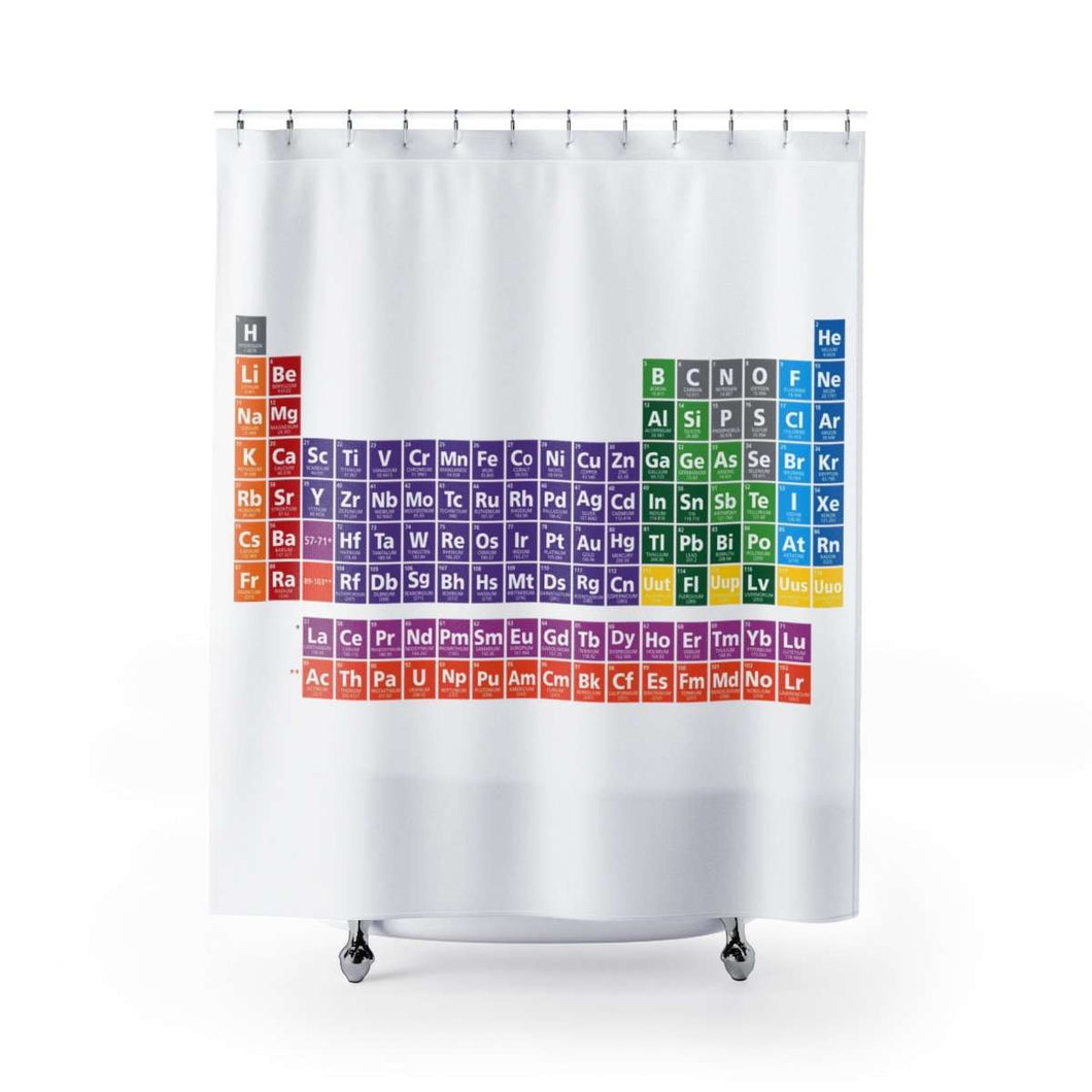Periodic Shower Curtain of Elements
