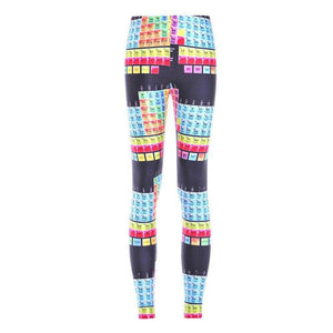 Periodic Table Pocket Leggings
