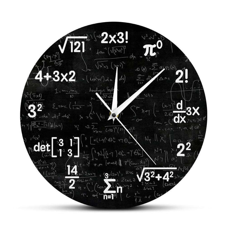 Equations Clock