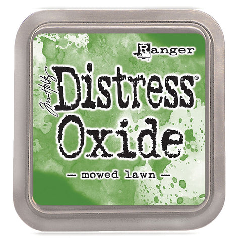 distress oxide - mowed lawn