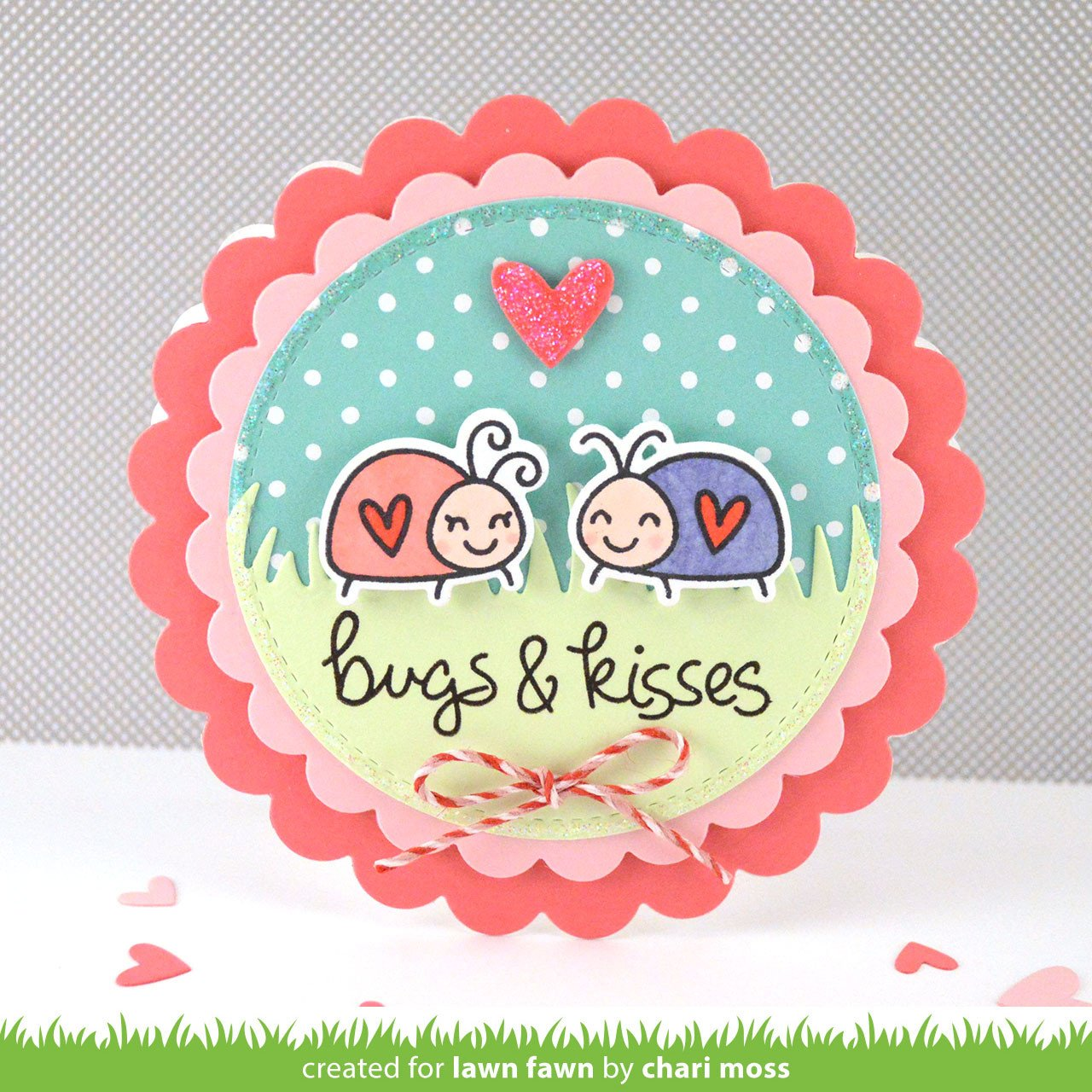 bugs and kisses - lawn cuts