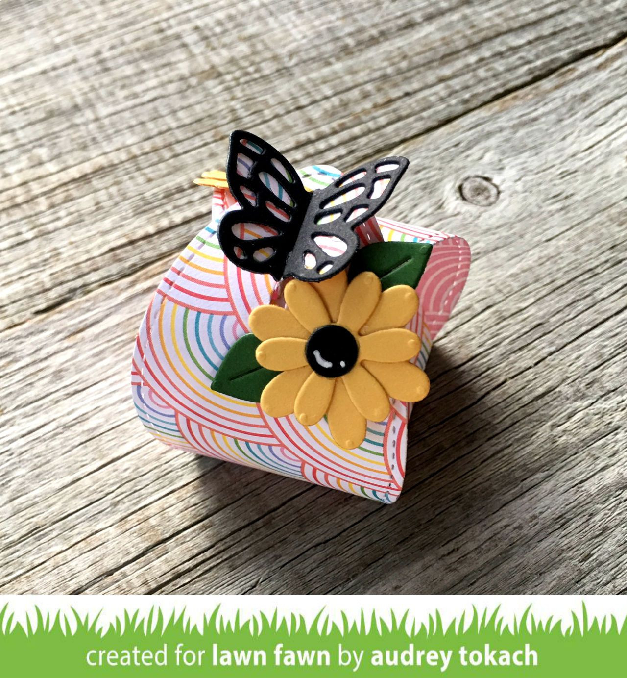 butterfly treat box