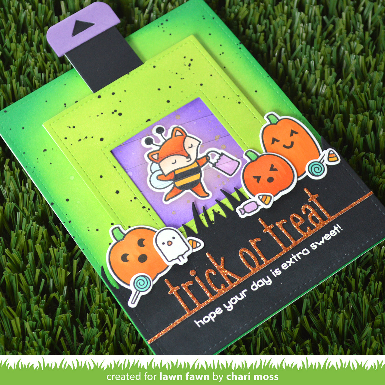 trick or treat line border