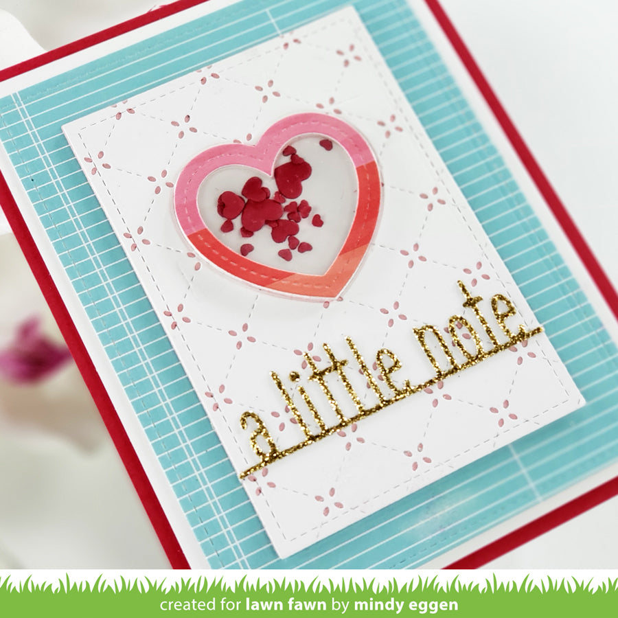 a little note line border