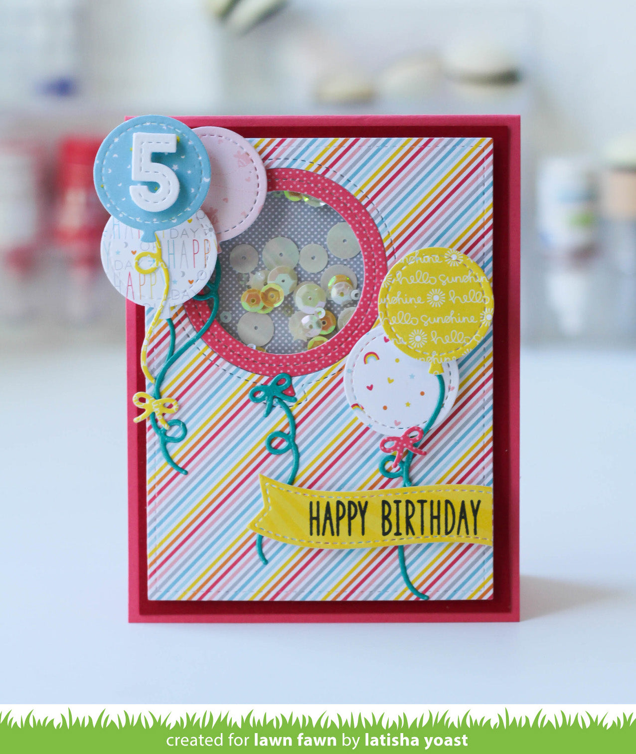 stitched balloon frames