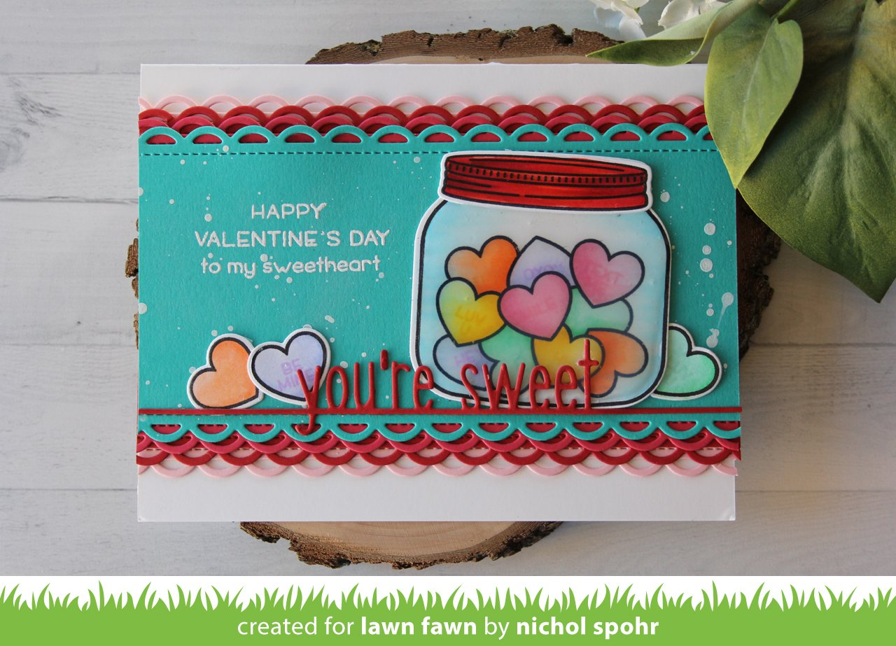 how you bean? conversation heart add-on