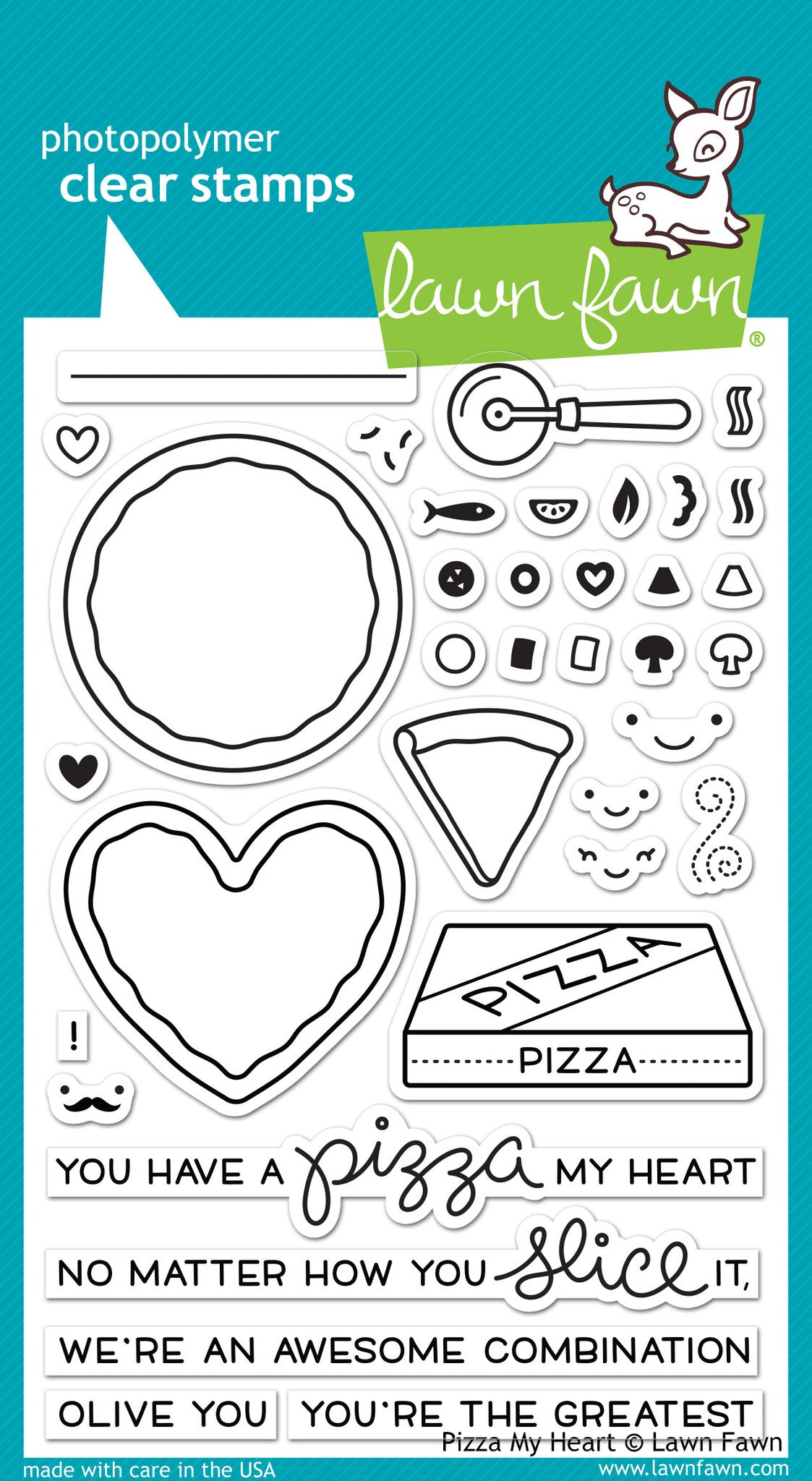 Pizza My Heart Lawn Fawn