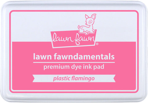 plastic flamingo ink pad