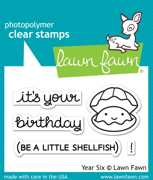 Lawn Fawn Clear Stamps 4x6-critters In The Sea