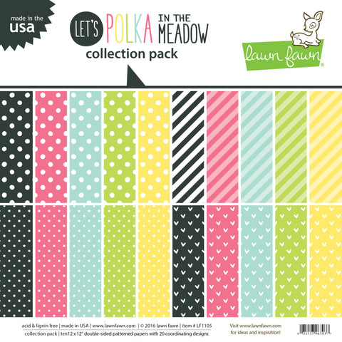 let's polka in the meadow collection pack