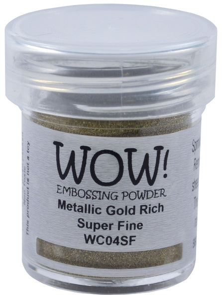 WOW metallic gold embossing powder