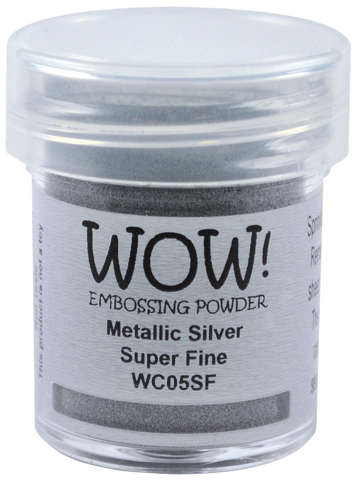 WOW metallic silver embossing powder