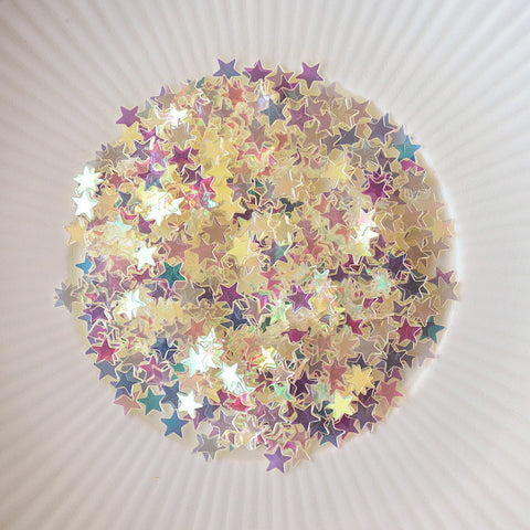 tiny stars confetti mix