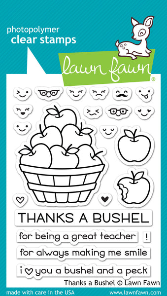 thanks a bushel