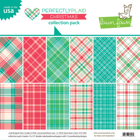 perfectly plaid christmas collection pack