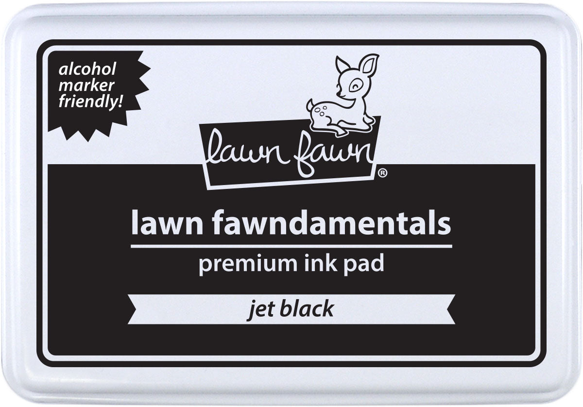 Jet Black Premium Ink Pad