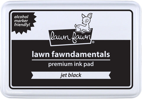 jet black ink pad