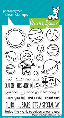 nichol's out of this world card & gift box