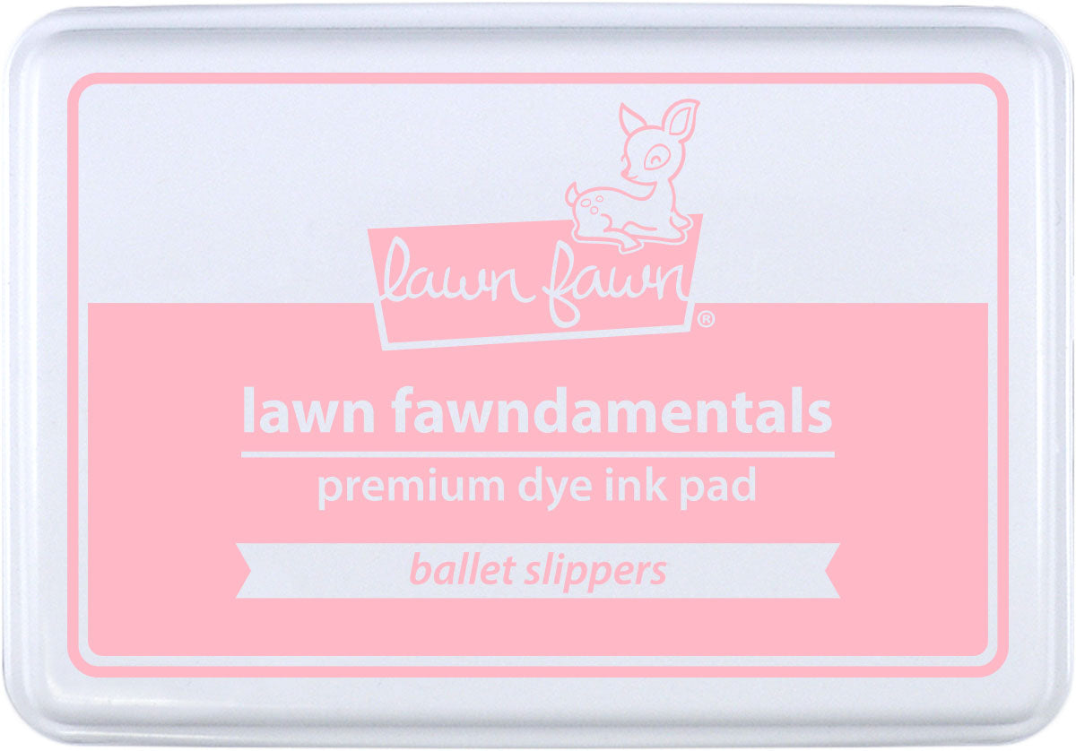 ballet slippers ink pad