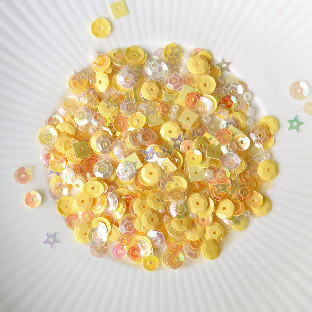lemon sherbet sparkly shaker selection