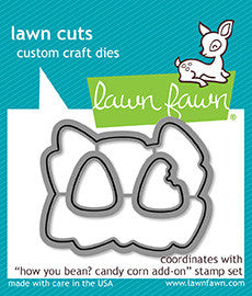 how you bean? candy corn add-on - lawn cuts