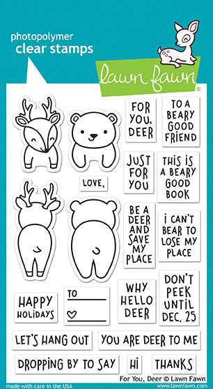 for you, deer