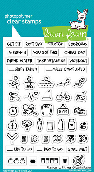 plan on it: fitness