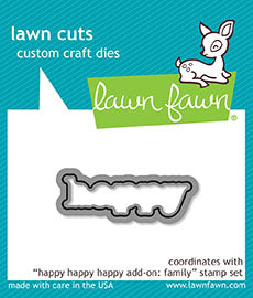 happy happy happy add-on: family - lawn cuts