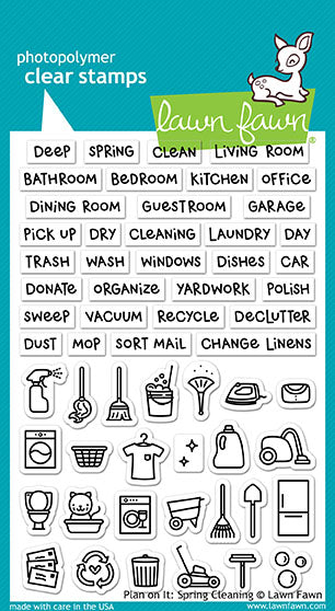 plan on it: spring cleaning