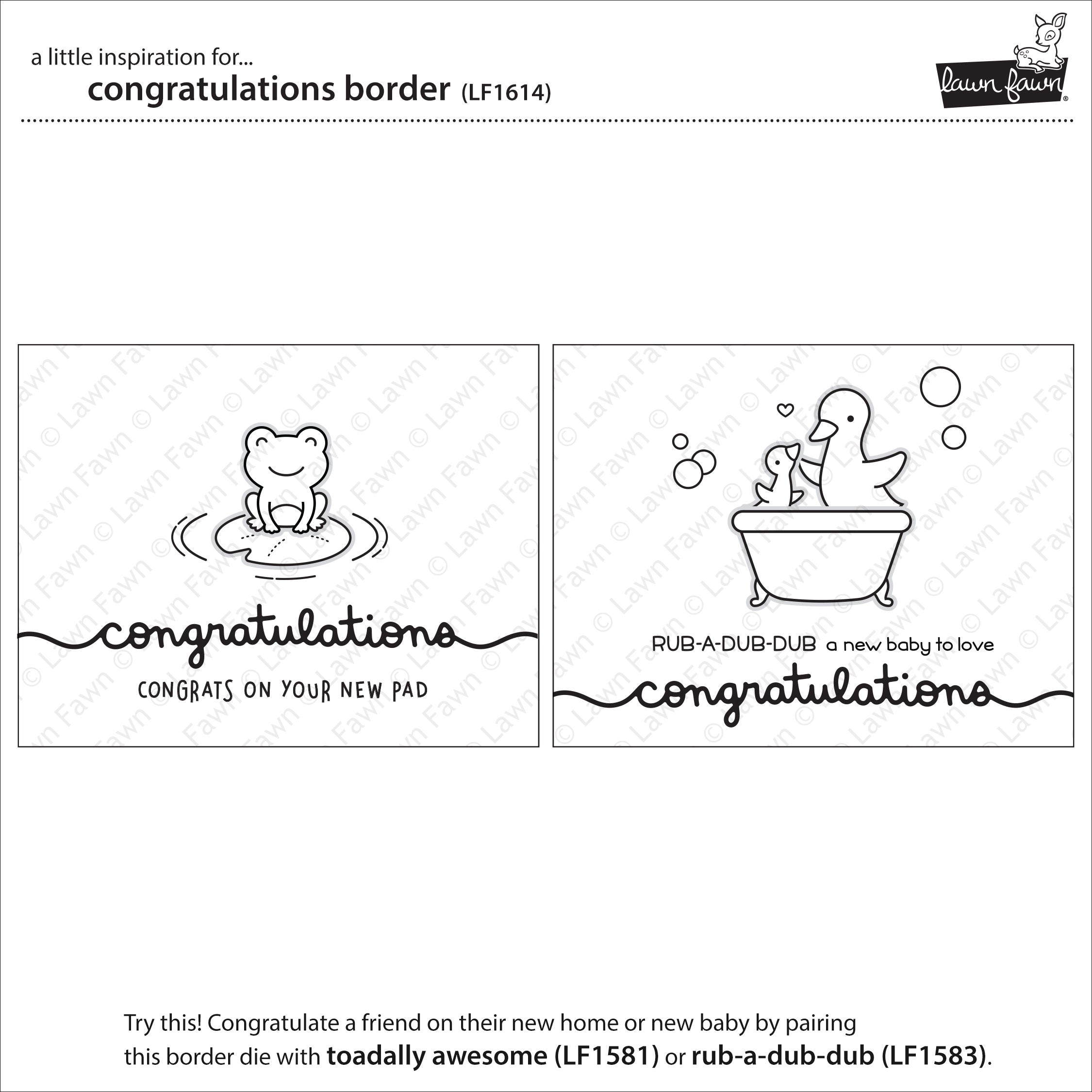 congratulations border