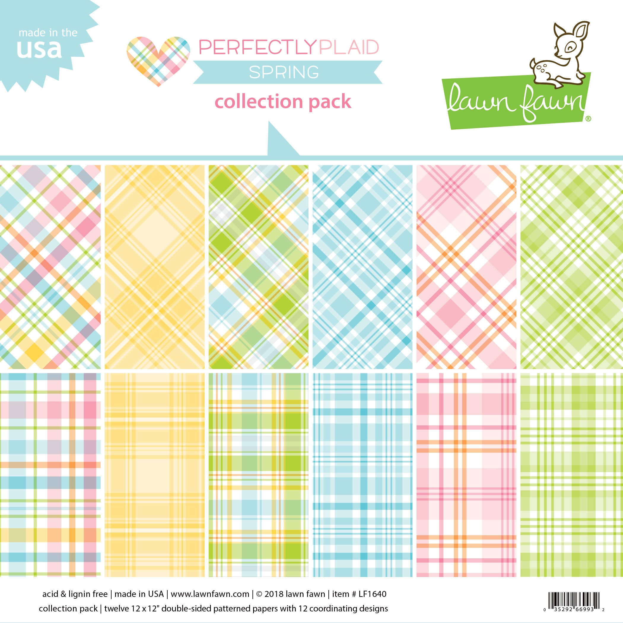 perfectly plaid spring collection pack