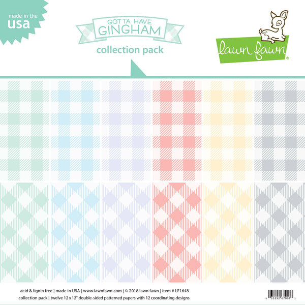 gotta have gingham collection pack