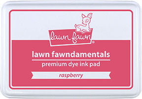 raspberry ink pad