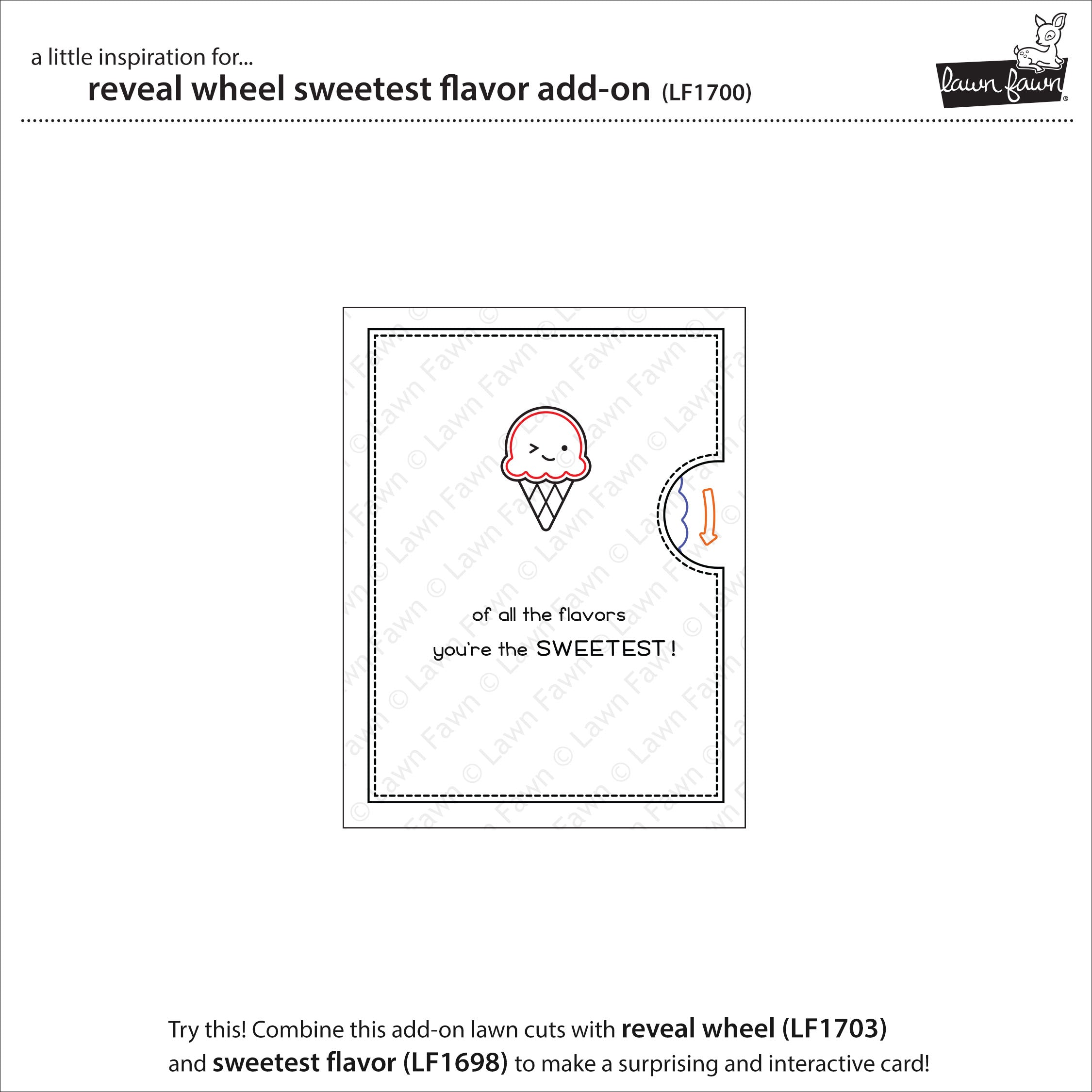 reveal wheel sweetest flavor add-on