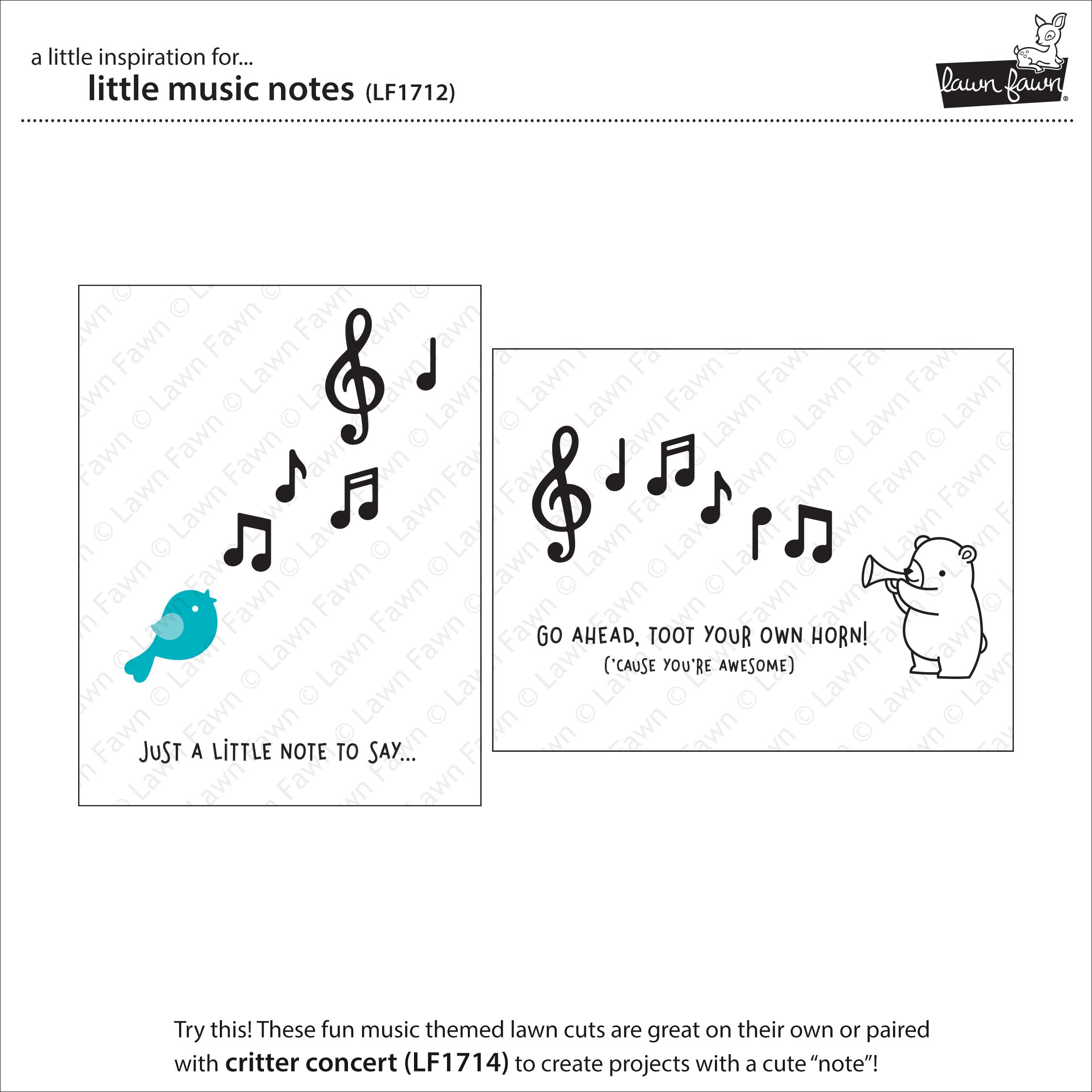 little music notes